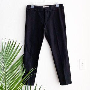 banana republic / black sloan fit slacks petite 4
